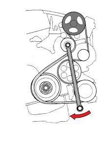 serpentine belt diagram 2008 honda crv serpentine free