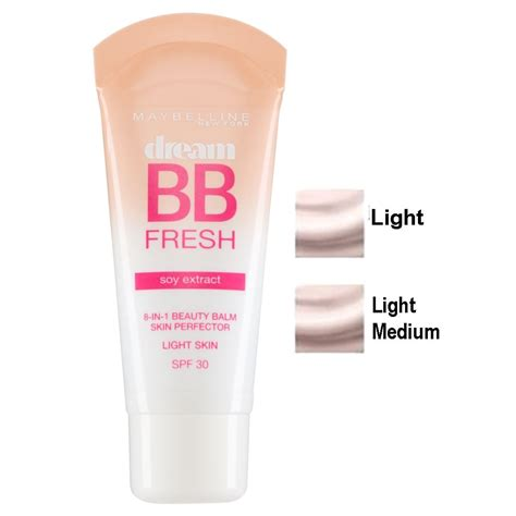 maybelline fresh bb 8 in 1 spf 30 30ml