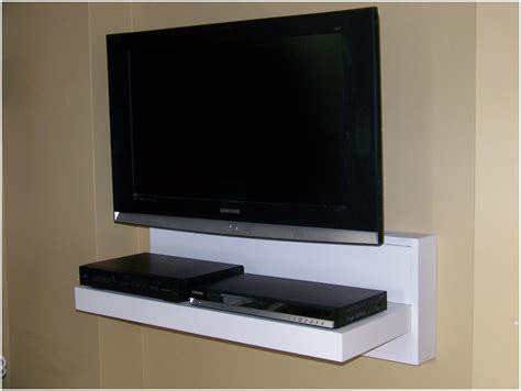Bookcase With Tv Shelf by Shelves For Wall Mounted Tv