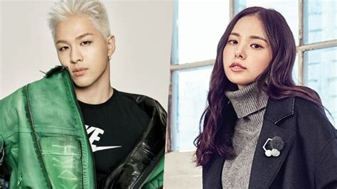 nb taeyang and min hyo rin are in a relationship spotted together party planner talks about taeyang and min hyo rin s
