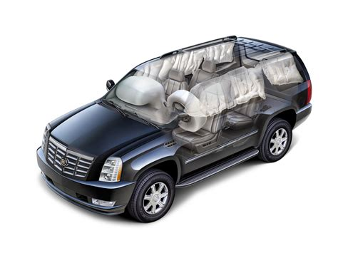 airbag deployment 2008 cadillac cts security system accident with frontal air bag deployment component replacement and inspections gm repair