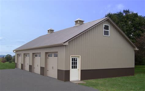 garage building designs pole building garages garage builders in pa