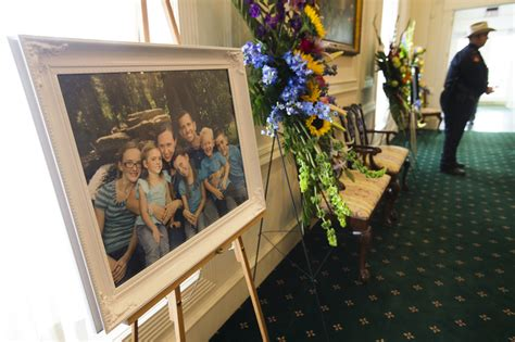 No Funeral Before Tuesday For by Funeral Held For 6 Slain Family Members In Daily