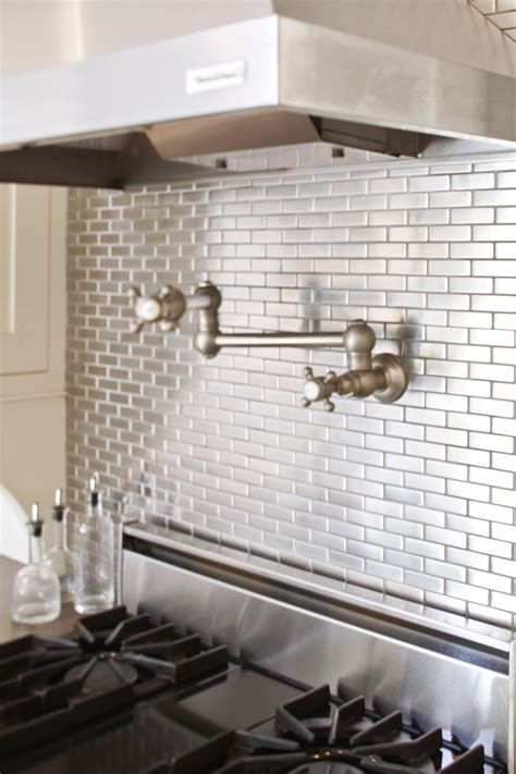 metal tiles for kitchen backsplash make a splash with these backsplash designs bkc kitchen