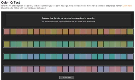 color test how do color vision tests compare with analog
