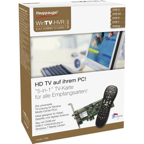 Tv Product Marketing Mba Intern by Hauppauge Wintv Hvr 5500 Hd Tv Karten Intern