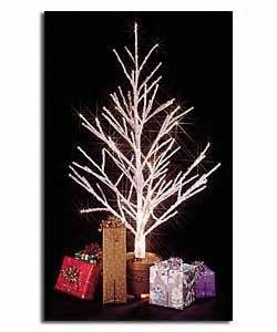 premier gold sequin fibre optic tree 4ft fibre optic twig tree with gold plastic pot trees