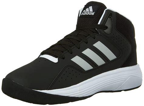 adidas neo s cloudfoam ilation mid basketball shoe black metallic silver ebay