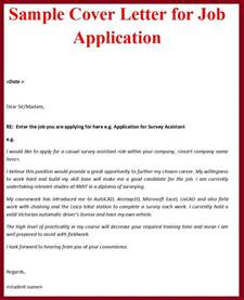 how to make cover letter for job application cover