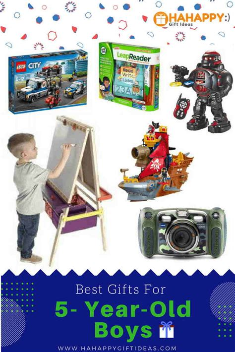 best gifts for a 5 year old boy educational fun
