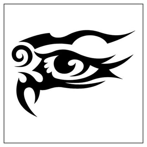 tribal eye tattoo design tattoobite com