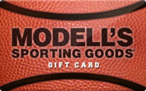 Modells Gift Card - sell modell s sporting goods gift cards raise