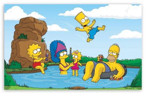 cartoon vacation wallpaper the simpsons summer vacation 4k hd desktop wallpaper for