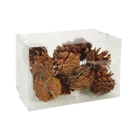 vidaxl co uk 10 decorative pine cones