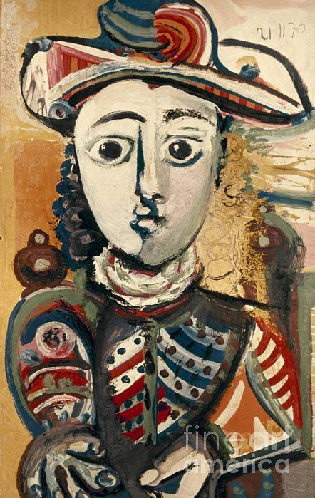 Picasso In An Armchair by