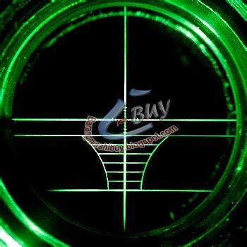 Laser Scope Dot Laser Senapan Angin Sinar Warna Merah teropong senapan riflescope telescope laser airsoft