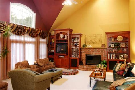 Wandgestaltung Wohnzimmer   mutige und moderne Wahl!