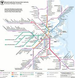 mbta gt commuter rail maps and schedules