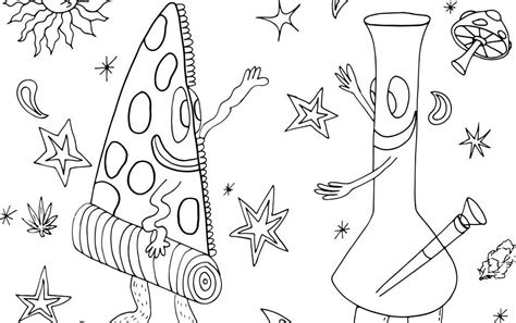 Stoner Coloring Pages free coloring pages of stoner