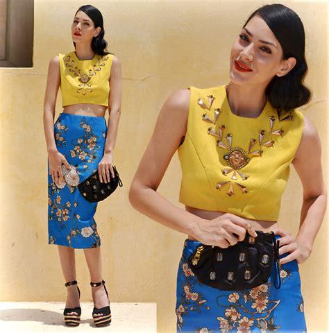 Topshops Take On The Prada Skirt by Konstantina Tzagaraki Choies Top Zara Skirt Prada