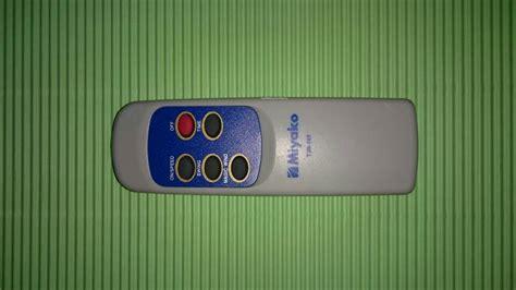 Kipas Angin Miyako Remote jual remote kipas angin miyako original aneka ragam
