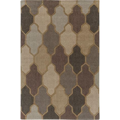 Karolus Area Rug Home Decorators Collection Karolus Gray And Black 8 Ft X 11 Ft Area Rug 3242250270 The Home
