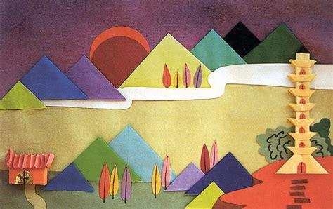 Paper Folding Arts - helen chao lan fen paper folding