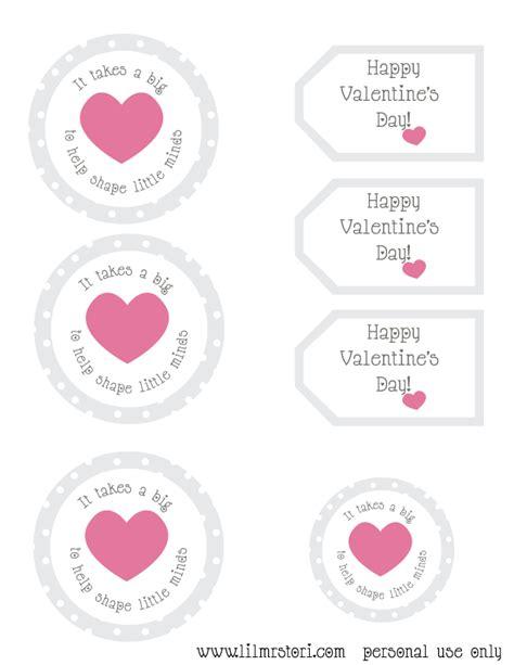 valentines gift for teachers gift for printable lil mrs