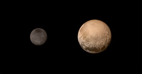 what color is pluto the pluto by moonlight new color images astro bob