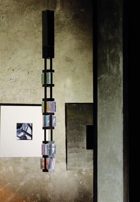 porta cd girevole porta cd tower 33b a sospensione girevole in acciaio per 72 cd