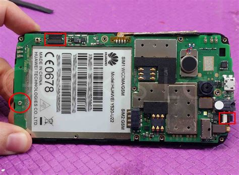 Touchscreen Huawei Y520 huawei ascend y520 touch screen replacement s lab