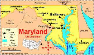 usa map baltimore md maryland map and maryland satellite images
