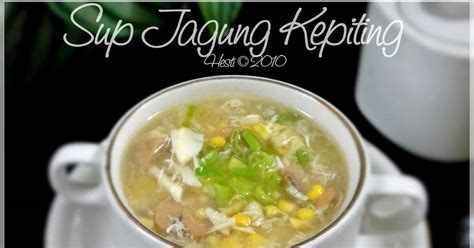 Minyak Wijen 1 Liter hesti s kitchen for your tummy sup jagung kepiting