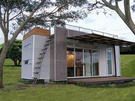 Small Homes Made From Shipping Containers Casa C 250 Bica A Tiny Container Home Small House Bliss