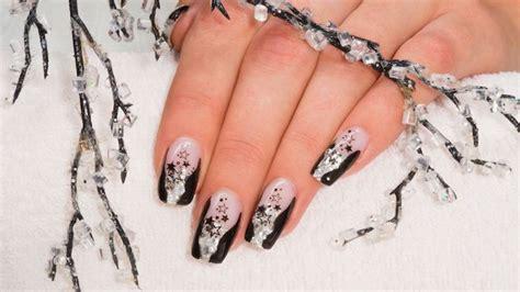 Deco Ongle Noir by Deco Ongle Noir Et Blanc Idee Deco Ongle Noir Et