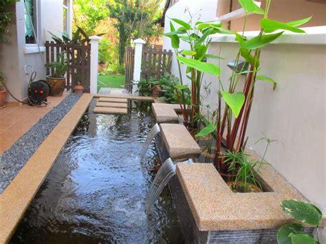 membuat rumah ikan ide pembuatan kolam ikan hias minimalis di halaman rumah