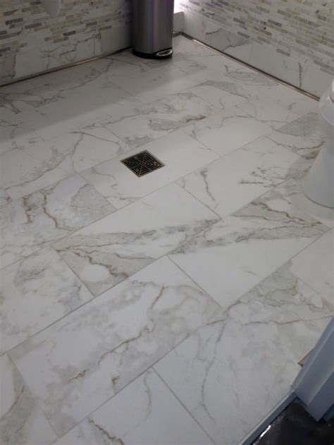 Black And White Tile Bathroom Ideas What Tile Would Look Best In The Shower With This Floor Tile
