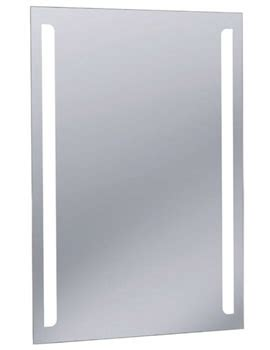 hib aaron landscape bevelled edge led bathroom mirror led bathroom mirrors qs supplies uk
