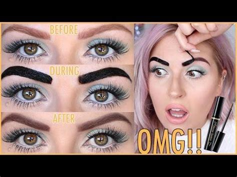 tattoo brow maybelline before and after makeup hairstyles web