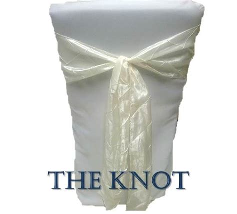 Chair Sash Ties by How To Tie A Chair Sash The Knot Wedding