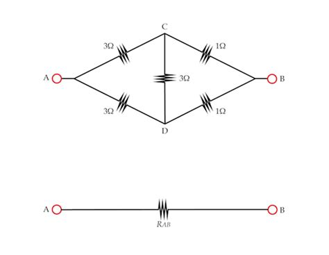 resistor math problems electricity and magnetism problem on circuit behavior problem solving neither series nor