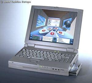 toshiba satellite pro cdx vintage laptop notebook