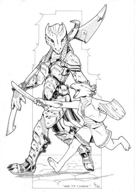 d d dragonborn template two dragonborn d d not elder scrolls how to draw