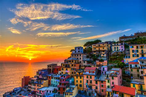 colorful city cinque terre the colorful city in northern italy