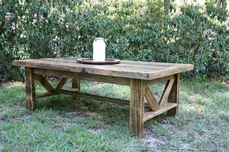 reclaimed wood coffee table etsy best 25 reclaimed wood coffee table ideas on