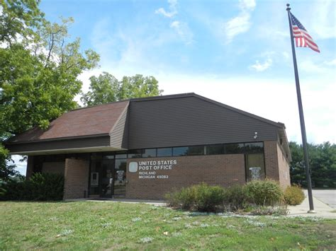 Richland Post Office by Richland Michigan Post Office Post Office Freak