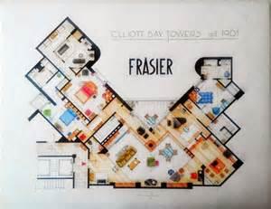 Frasier Floor Plan Frasier S Apartment Interiors