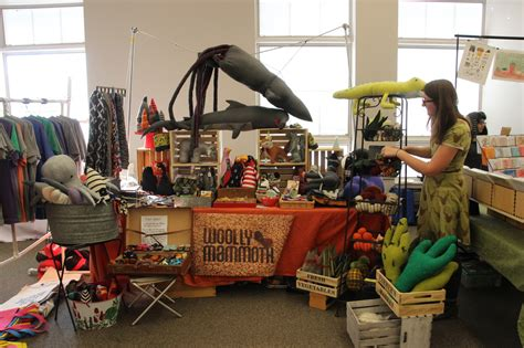 The Handmade Marketplace - woolly mammoth at bloomington handmade market best