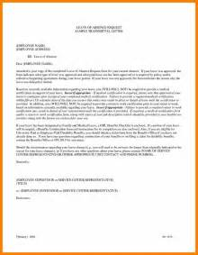 Request Letter Half Day Leave Sle Request Letter For Unpaid Leave