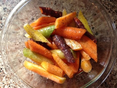 tri color carrots roasted tri color carrots with dill shoal creek cook